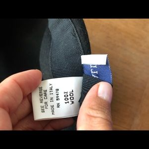 Fratelli Talli Accessories - FRATELLI TALLI black wool french beret ,super cute